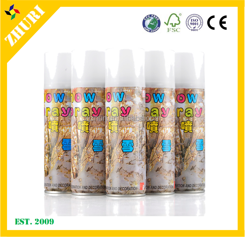 Taiwan 150ml party/wedding/event white Snow Spray