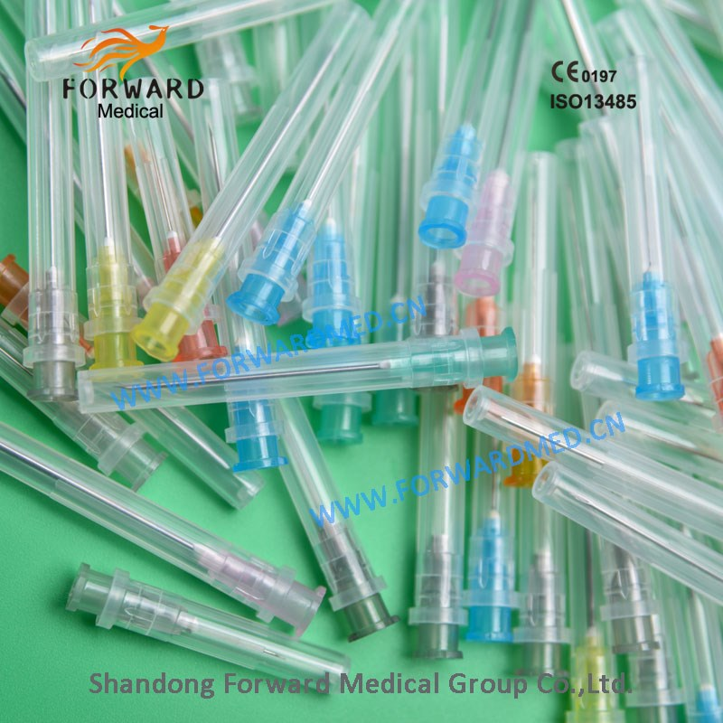 High-quality disposable types of hypodermic needle sizes needle