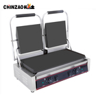 CHINZAO Best Products Table Top Griddle Machine Non-Stick Panini Contact Grill