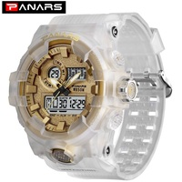 PANARS New Arrival Dual Time Watch Movement Reloj Digital Sport Men Digital Watches