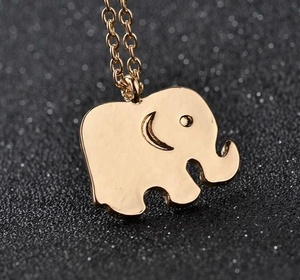 Elephant Chain Necklace c807ba2df0d3