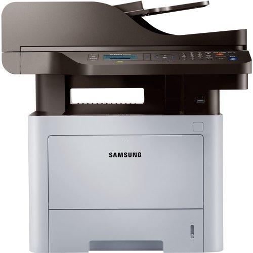 Samsung Proxpress M3870fw Laser Multifunction Printer . Monochrome . Plain Paper Print . Desktop . Copier/Fax/Printer/Scanner . 40 Ppm Mono Print . 1200 X 1200 Dpi Print . 40 Cpm Mono Copy Lcd . 1200 Dpi Optical Scan . Automatic Duplex Print . 300 Sheets Input . Fast Ethernet . Wireless Lan . Usb