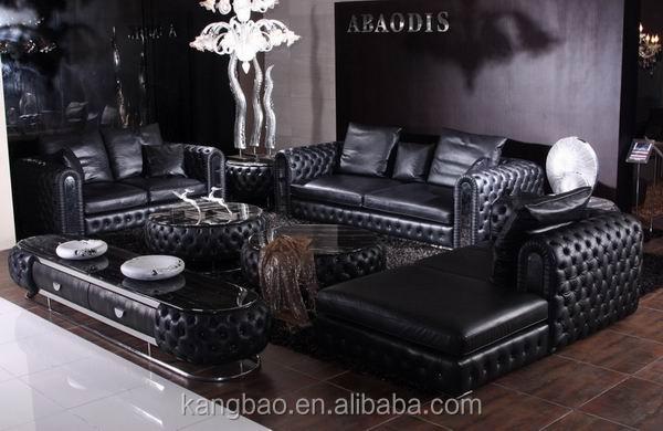 Classique de luxe design italien canap en cuir pleine haut de gamme canap e - Canape de luxe italien ...