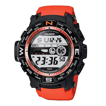 Dual Time Zones Multifunctional Digital original designer waterproof Sports Wrist Watch