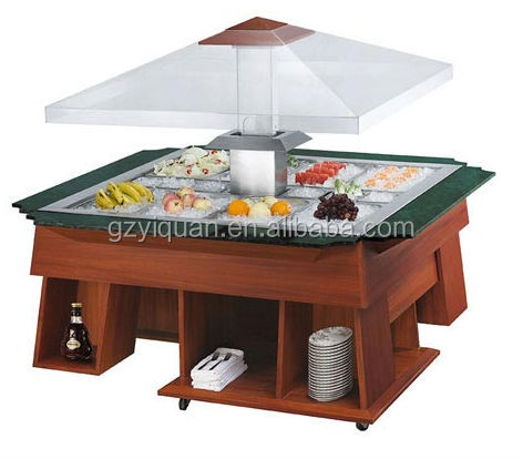 Salade en acier inoxydable bar quipement de restaurant for Equipement resto plus