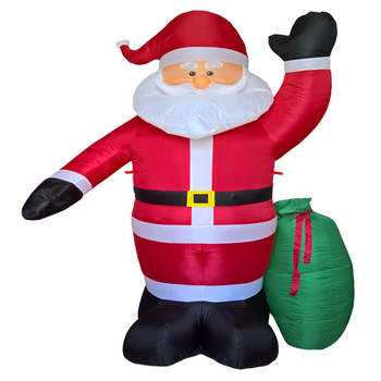 customized christmas party decoration inflatable santa claus with presents - Santa Claus Presents