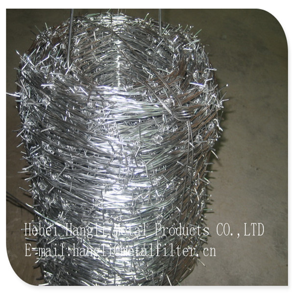 Cross Razor Razor Type and Iron Wire Material Hot sale galvanized barbed wire
