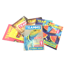 TEAMMS Teaching English Children Grammar Material Activity Books with Talking English Magic Pen