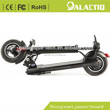 2017 hot sale 400w powerful foldable 10inch pneumatic tires two wheel electric scooter for adult 10.4AH lithium battery
