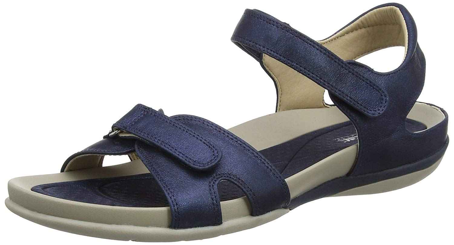 27c822ca98324d Get Quotations · Rieker Women Sandals Blue