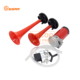 Two Double Air Horn Trumpet Plastic Roots Air Compressor Horn Tweeter /Car Truck Horn 12v
