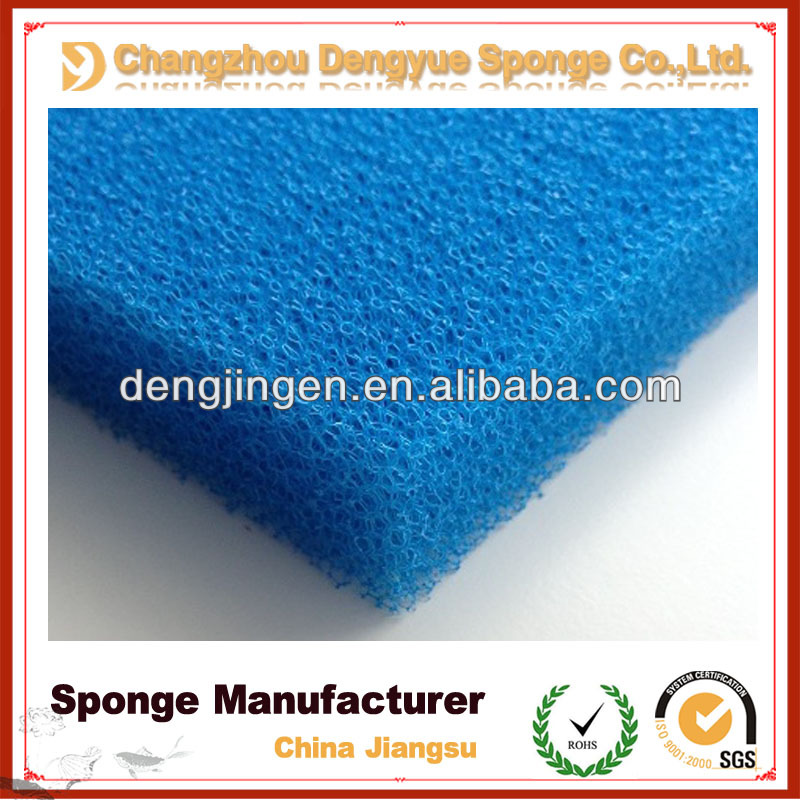 40PPI Reticulated Polyurethane Wholesale Bio Fish Polyether Filter Foam