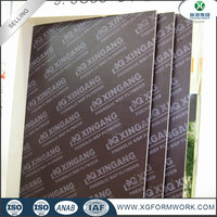 factory price 18mm melamine plywood film faced plywood poplar/birch plywood