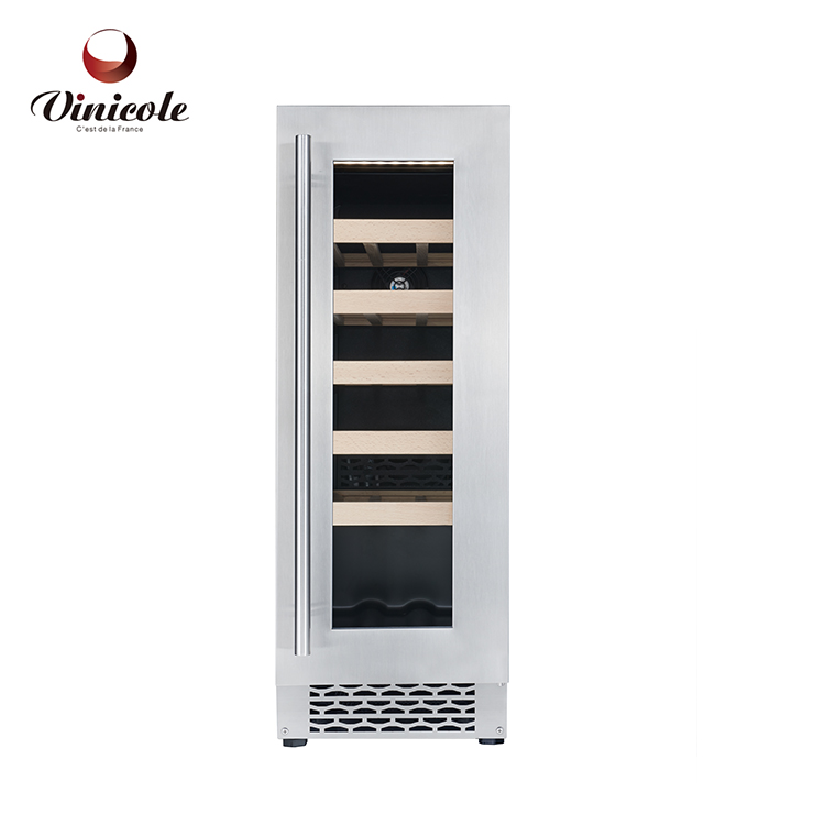 Wine Cooler Cabinet Chiller Refrigerator 20 Bottle Compressor Wine Fridge