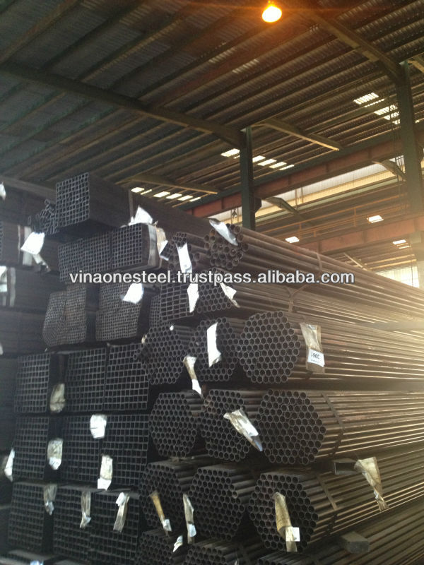 VINA ONE STEEL ASTM A500 Black Square Steel Pipe