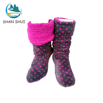Cotton/Polyester Girl Winter Boots For Kids/Women