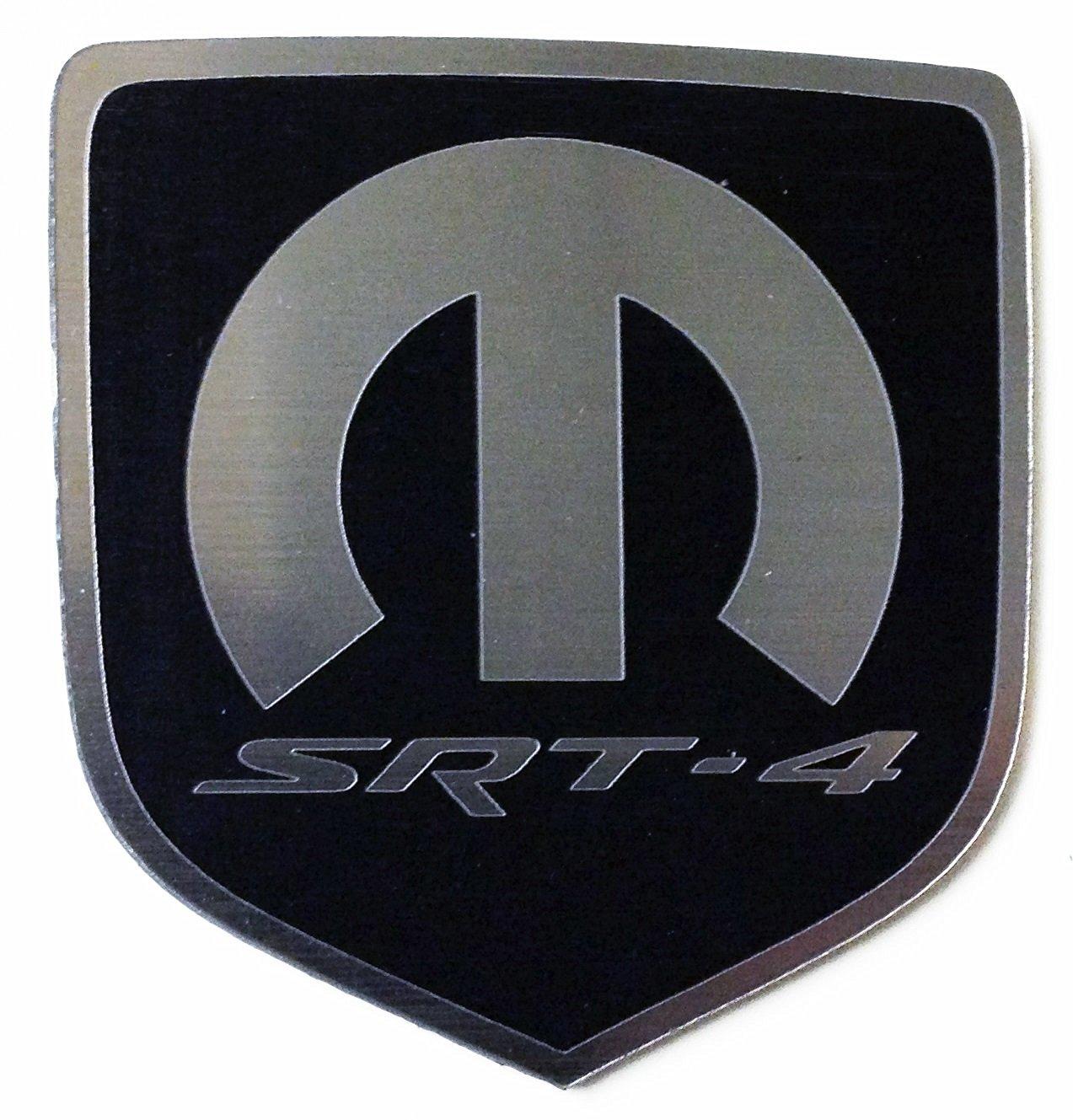Dodge Caliber Srt4 Front Emblem Mopar Srt-4 Black