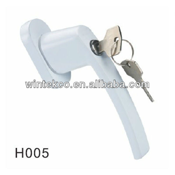 casement window lock handle