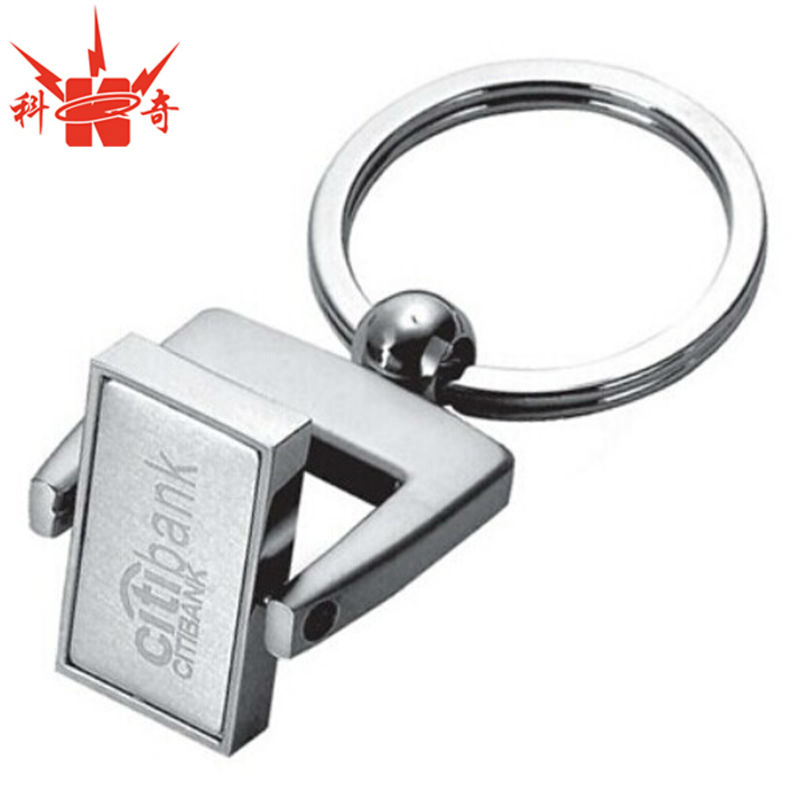 Particular Keyring Custom Screw Parts Rotatable Keychain