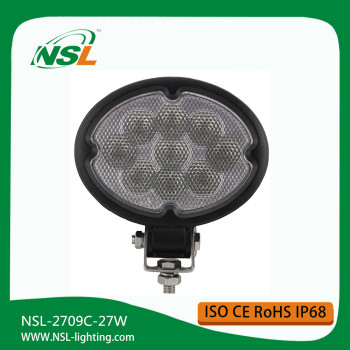 2709C LED Offroad Light 27W 4*4 inch Round Shape LED Work Light Car Atv Suv Truck Led Working Lights