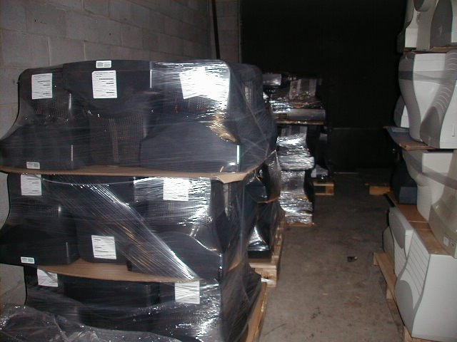 Used Black CRT Monitors