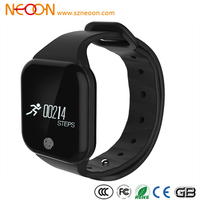 NEOON Waterproof smart bracelet anti-lost bluetooth wrist watch sport smartwatch for iphone and android heart rate X5S OEM/ODM