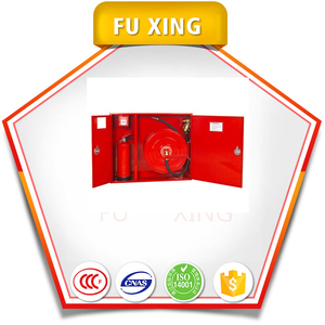 Fire Safety Combined Fire Hose Reel Box for fire protection cabinet