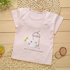 CYFOREVER high quality summer breathable baby girl t-shirt
