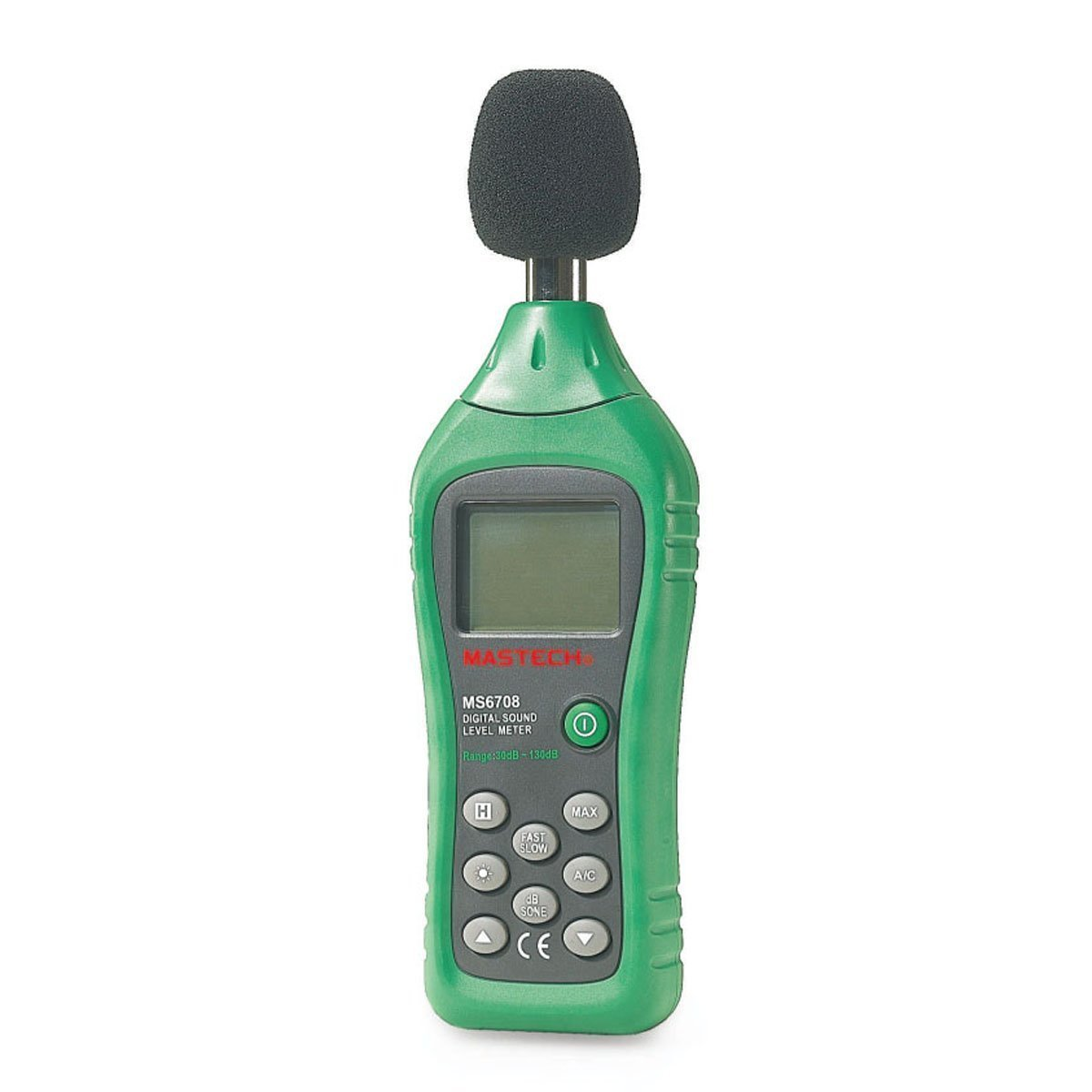 MasTech MS6708 Digital sound level meter / noise meter, sound tester, decibel meter, noise meter