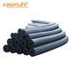 Acoustic closed cell pipe armaflex autoadhesivo pvc polyurethane insulation foam rubber tube