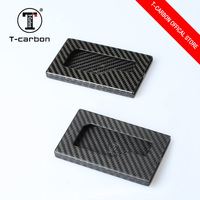 New product 2016 gift business carbon fiber card holder