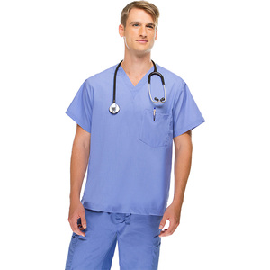 OEM Medical Uniforms Made in China Alibaba Best Selling Hospital Scrubs United States