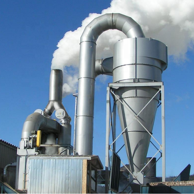 Zähler Zyklon Industrie Staub Kollektor für Abrasive Partikel Sammlung