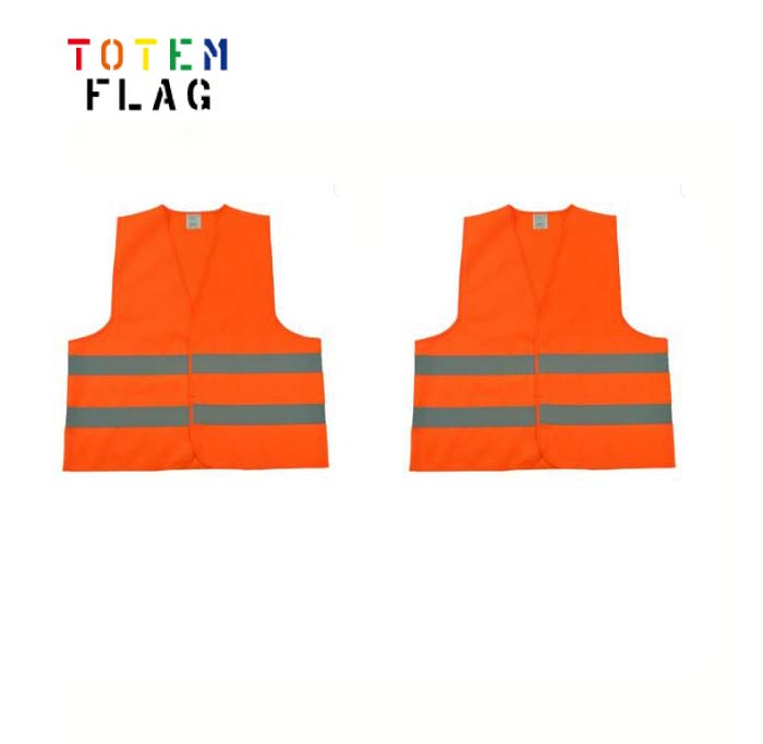 Wholesale <strong>orange</strong> safety <strong>vest</strong> 100% polyester