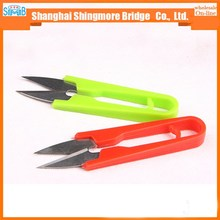 alibaba china hot sales V shaped cross stitch scissor for cutting