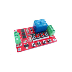 12V Multifunction Relay Cycle Timer Module self-locking / timing relay delay module