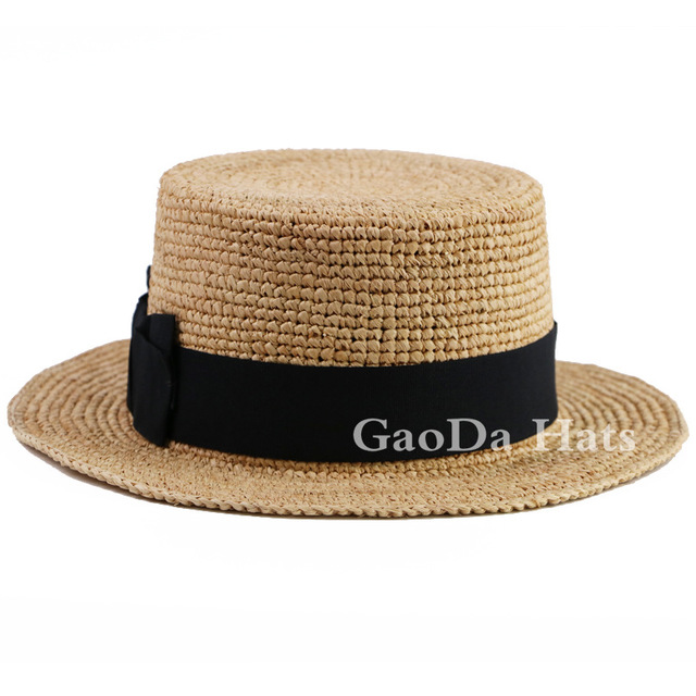 3756354d22d VINTAGE DELUXE QUALITY straw boater hats