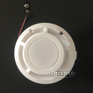 Wireless 315/433Mhz smoke detector 9V battery operate for home use mini smoke detector