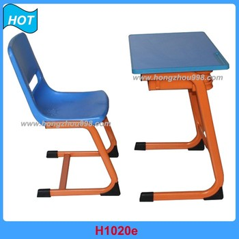Kids Study Table And Chair Classroom Furniture For School
