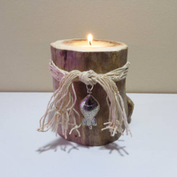 Driftwood Beach decor,Driftwood candle holders
