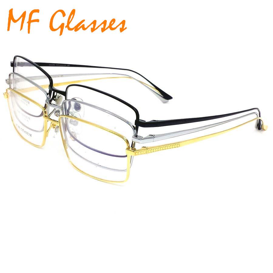 Titan Brillen Vollrand Optische Gläser Rahmen ...