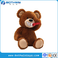 Animated <span class=keywords><strong>Spazzola</strong></span> I Denti Orso di peluche giocattoli dente