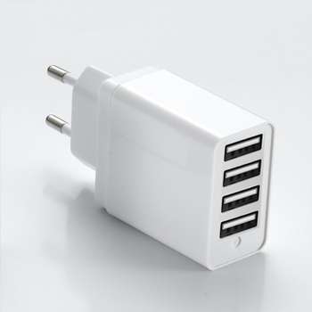 Cell Phone charger Oem Factory Accessories 4 Ports Wall Charger Universal AC Charger For Travel