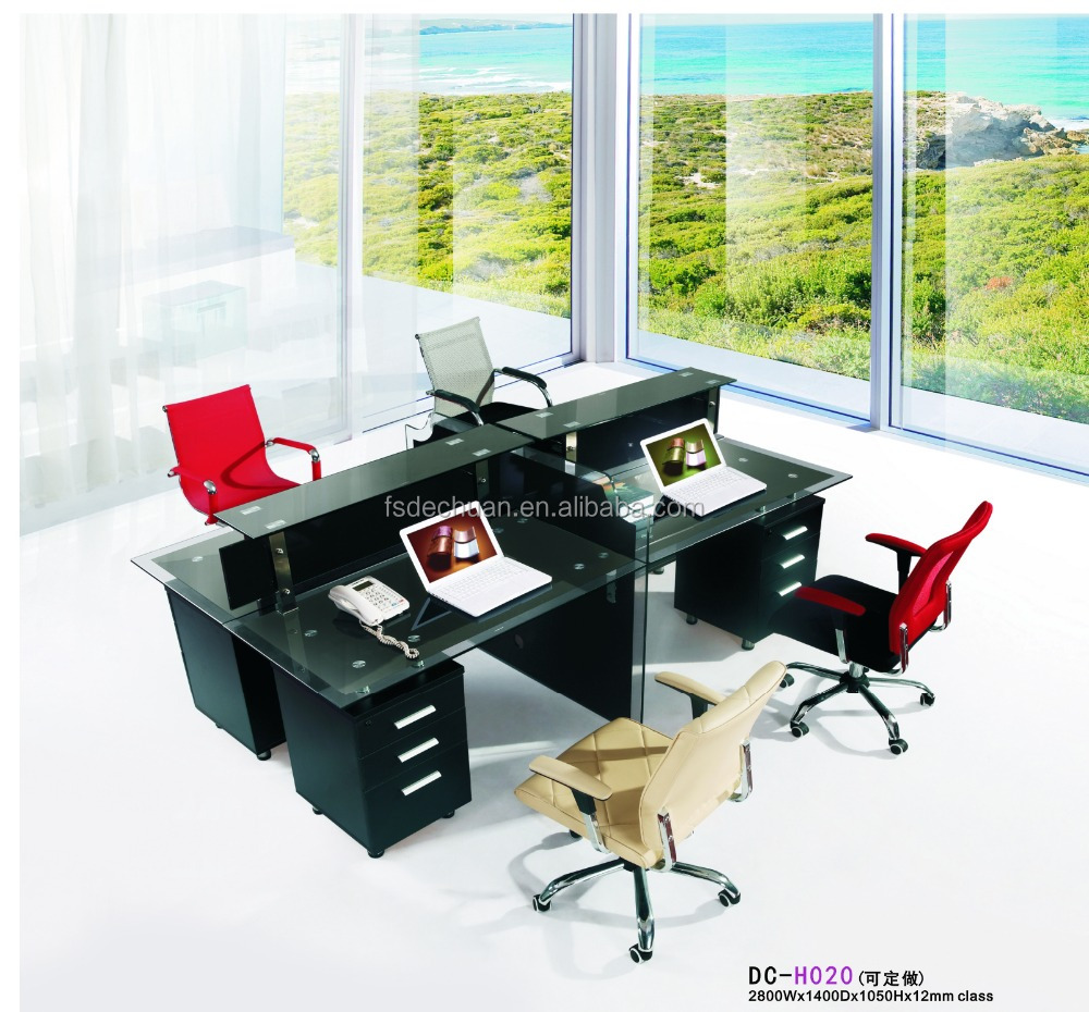 3 person office cubicle workstation/office furniture