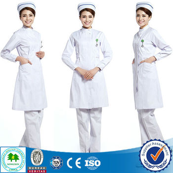 high quality new style nurse uniform design for winter