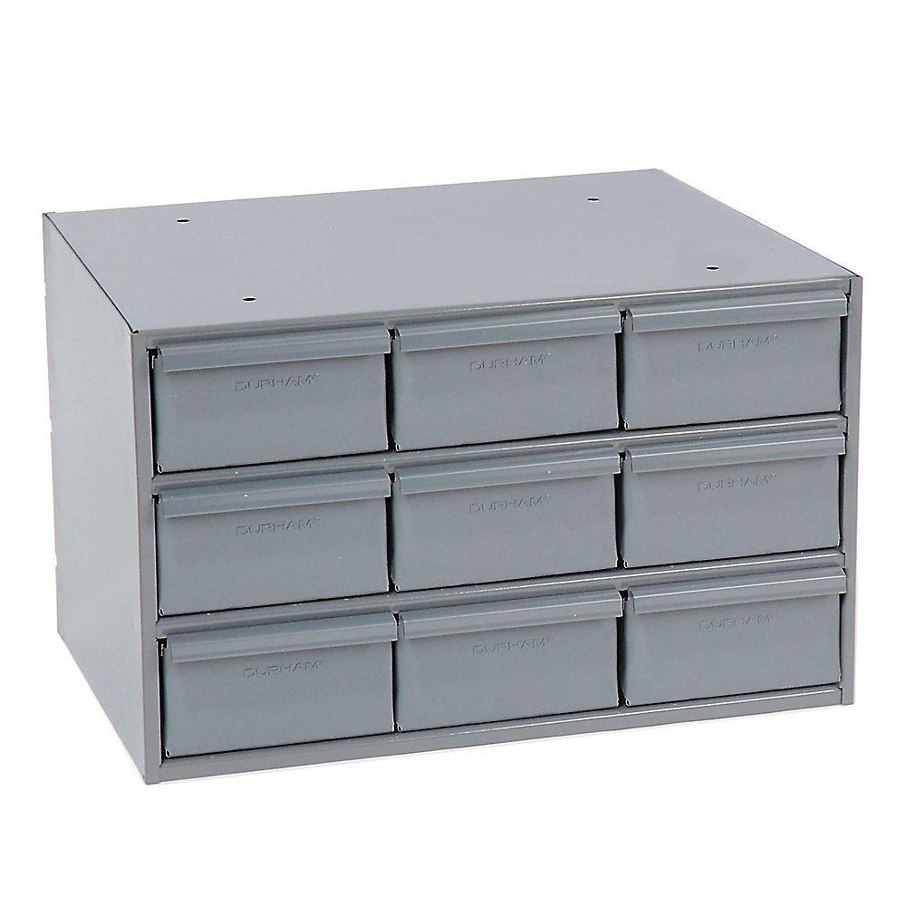 "DURHAM Modular Cabinet - 17-1/4 x11-5/8 x10-7/8"" - (9) 5-3/8 x11-1/4 x2-3/4"" Drawers"