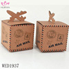 Vintage Airplane Decoration Wedding Favor Box Kraft Paper Box Party Candy Box