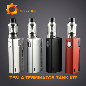 2017 new products Tesla Terminator box mod authentic tesla battery e-cigarette price in saudi arabia