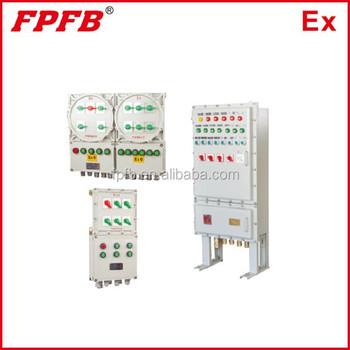Bxm(d)51 Explosion Proof Illumination(power) Distribution Panel ...