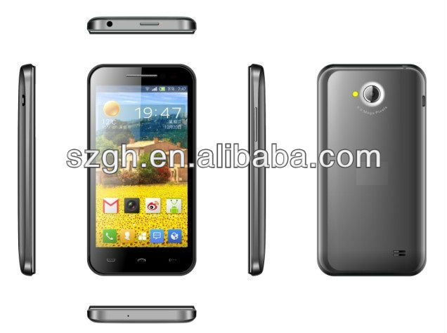 Quad Core 3G MTK6589 Android 4.1 A19Q smart phone